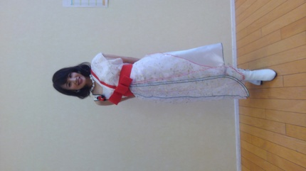 エマさんのドレス